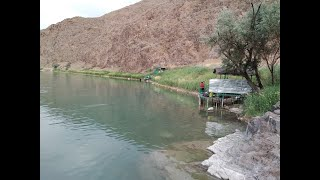Рыбалка на реке Или Тапчан 2 17 01 20г
