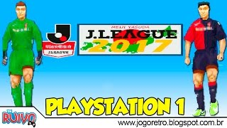Winning Eleven J.League 2017 (WE2002) no Playstation 1 / PS1