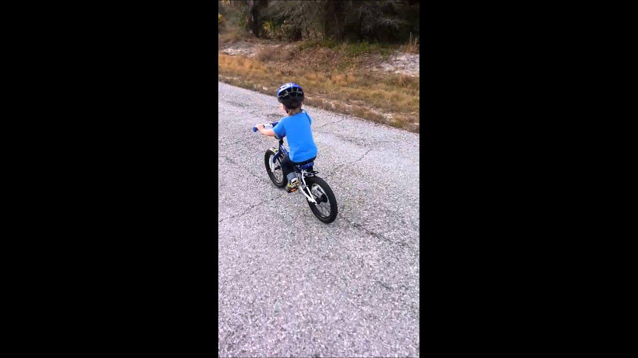 3 Year Old Riding Bike Without Training Wheels Trek Jet
