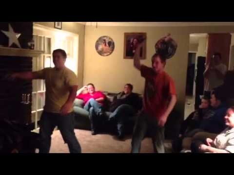 """Karaoke dance off with """"Just Dance 3"""" on the WII"""