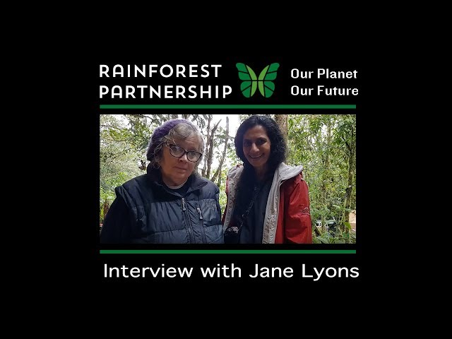 Our Planet. Our Future. Interview with Jane Lyons.