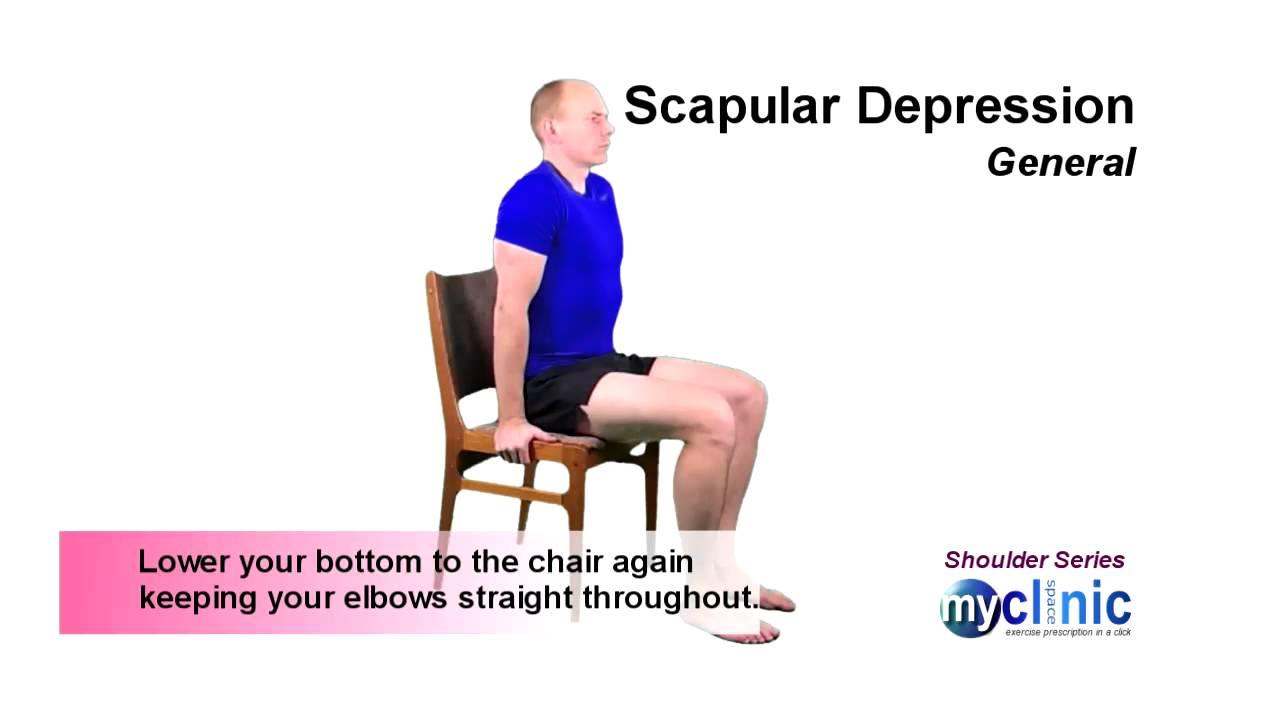 Shoulder Series - Scapular Depression - YouTube