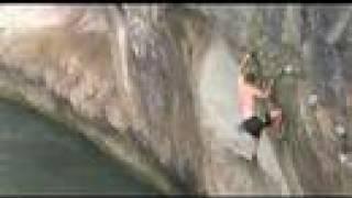 The Heel Hook Look, a deep water solo
