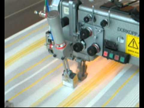 C510 767 macchine per cucire automatica con testata adler for Macchine da cucire usate