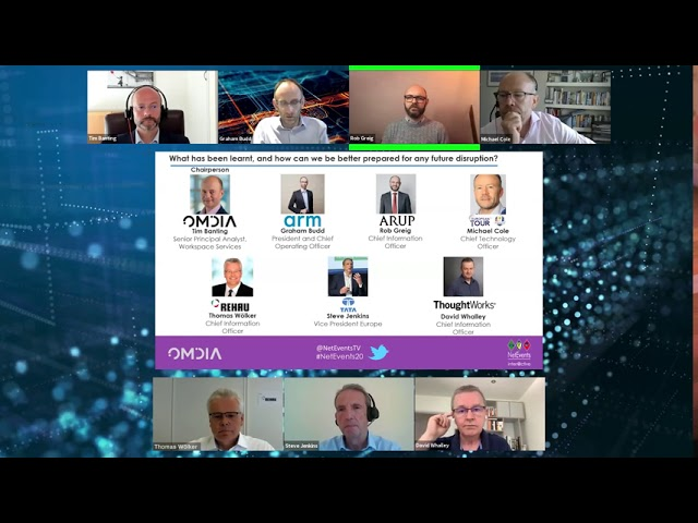 CIO RT - Business Continuity & Agility During & After Times of Crisis – Part 1