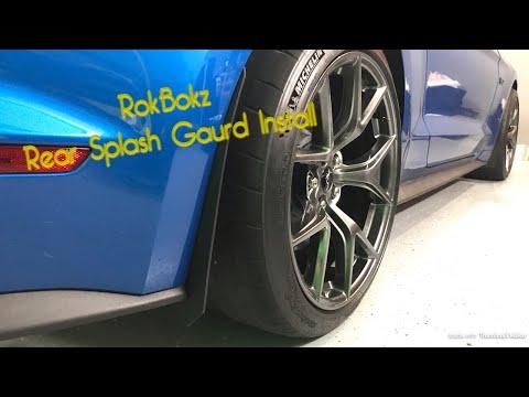 2019 Mustang GT PP2 Rear RokBlokz Splash Guard Install
