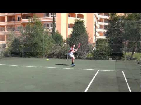 Tennis college recruiting video Diogo Pinto Garnel