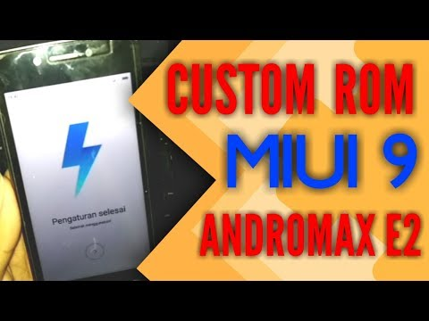 Custom Rom Xiaomi MIUI 9 Andromax E2 || Update 2018 - YouTube