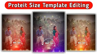 🔥New Avee Player Template #Portrait Size Template Tutorial | Avee Player Template Download Link new