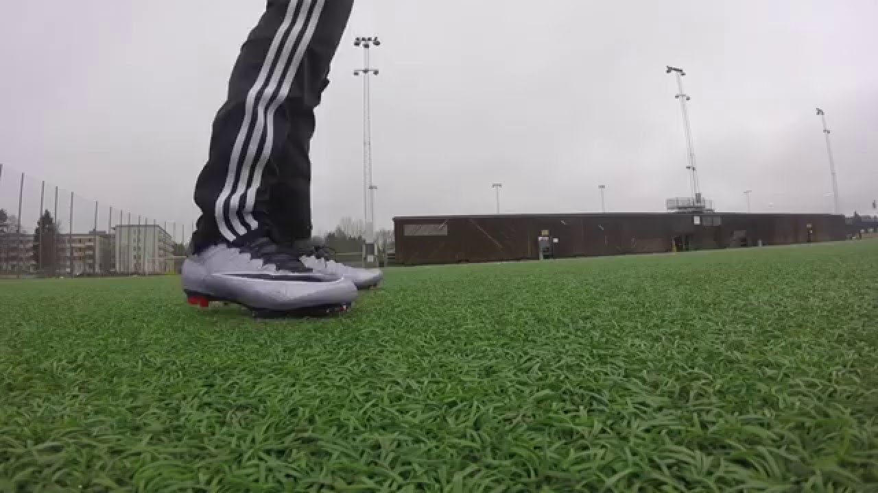 promo code 883d5 5ca41 Nike mercurial superfly 4 liquid chrome pack. Test and Review - YouTube