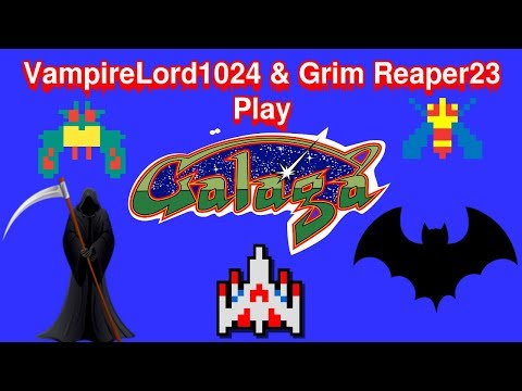 VampireLord1024 & Grim Reaper23 Play Galaga At Wal-Mart In Centerville, Iowa