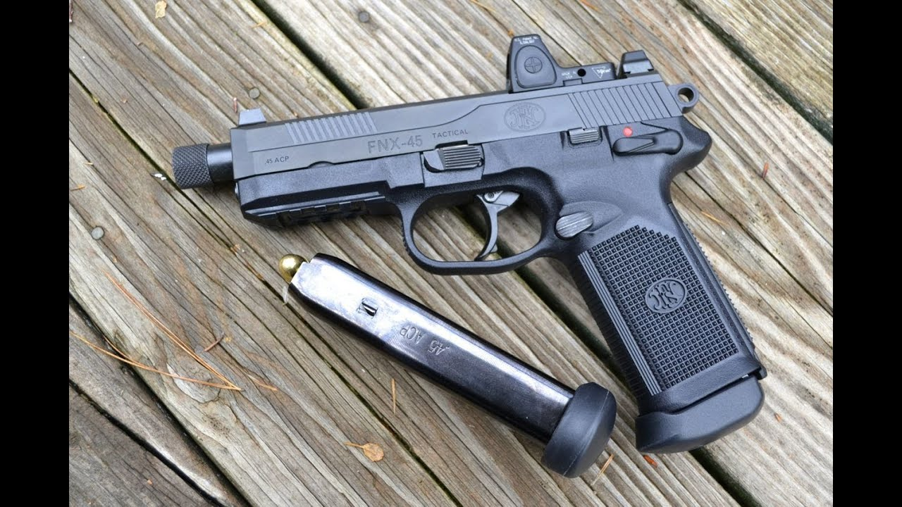 FNX-45 TACTICAL Pistol - YouTube