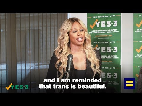 """Laverne Cox: """"Trans is Beautiful"""""""