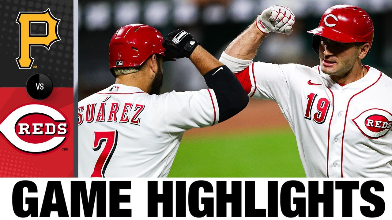 Mike Moustakas, Brian Goodwin lead Reds in 9-4 win | Pirates vs. Reds Game Highlights 9/14/20