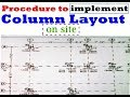 Procedure to Implement column layout on site | How to do Column Layout on Site / Field