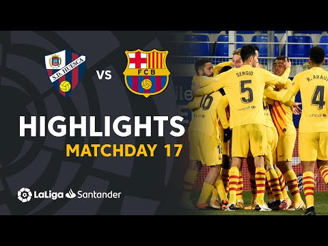 Huesca Barcelona Goals And Highlights