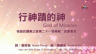 行神蹟的神 God of Miracles 敬拜MV - 讚美之泉敬拜讚美專輯(21) 我要看見 thumbnail