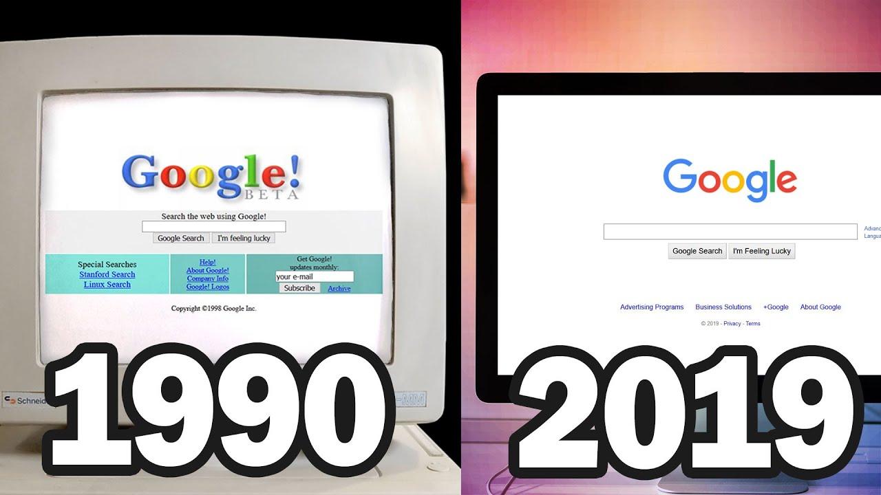 Evolution of Web Design and Development 1990-2019 | Red Stapler
