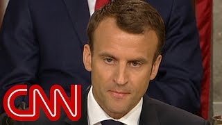 Macron warns US Congress: There's no Planet B