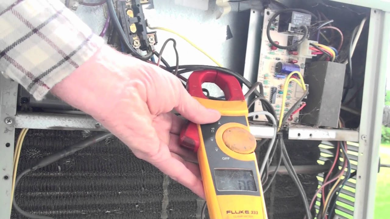 maxresdefault how to check amp draw of air conditioning compressor youtube hvac compressor wiring check at gsmx.co