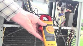 How to check amp draw of air conditioning compressor