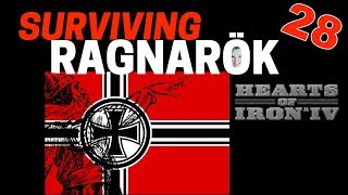 Hearts of Iron 4 - Challenge Survive Ragnarok! - Germany VS World  - Part 28