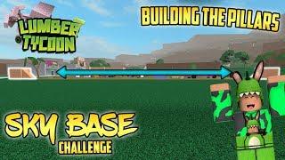 Sky Base Challenge Ep.1 (Lumber Tycoon 2) Roblox w/ IntelPlayz