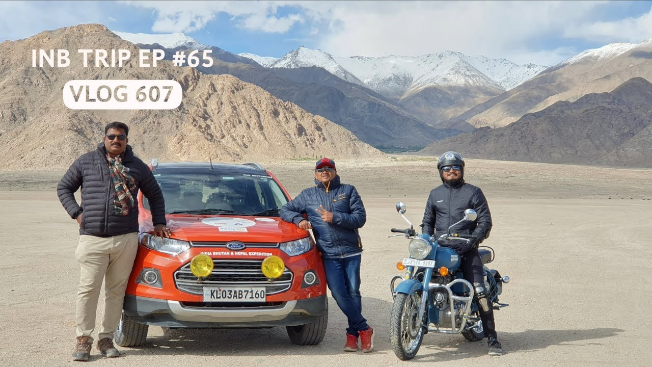Bullet Ride in Leh, A video dedicated to Bikers, INB Trip EP #65