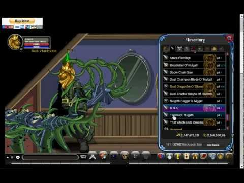 AQW Private Server ChaosQuestWorldz Show Items Chaos (2012)