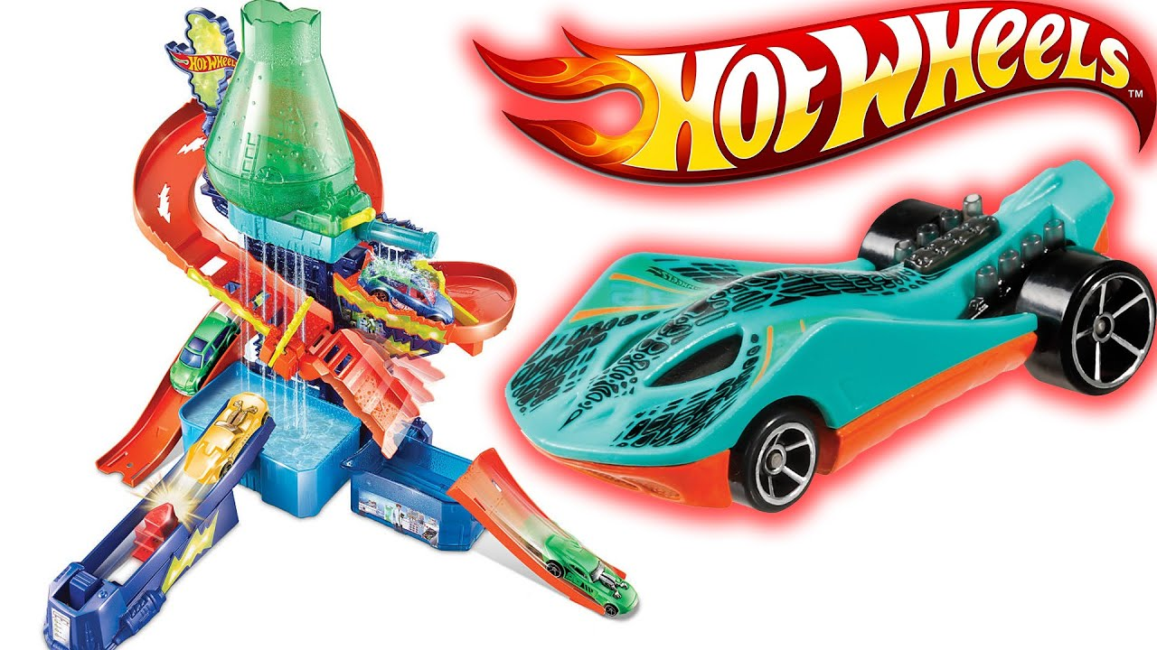 Hot Wheels Renk Degistiren Arabalar Cilgin Laboratuvar Seti