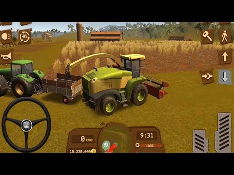 Farmer Sim 2018 - Carrer Mode: Become a Farmer - Threshing Wheat - Android GamePlay FHD  Episode 2
