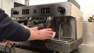 Wega Pegaso traditional espresso coffee machine fully refurbished