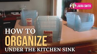How to Organize Under the Kitchen Sink Thumbnail