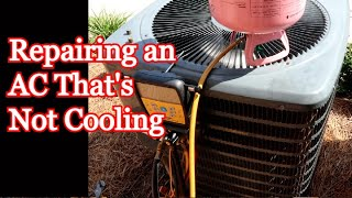 Air Conditioner Not Cooling House