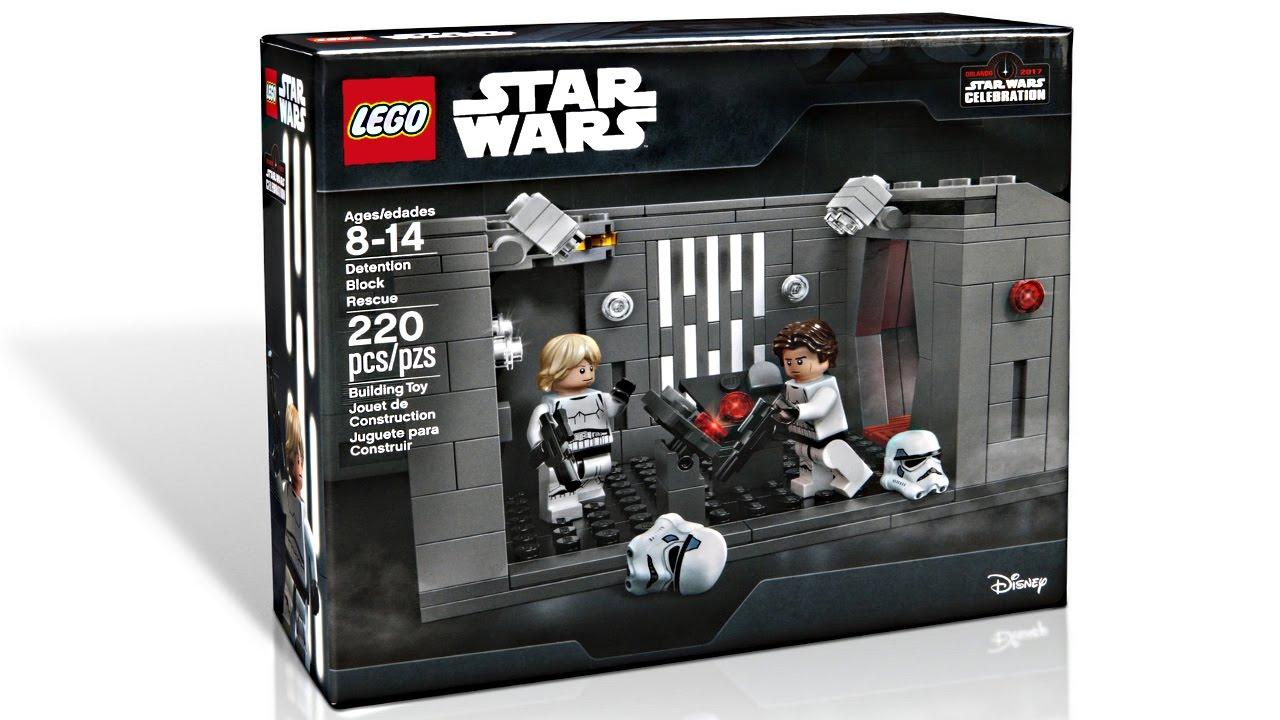 Lego Star Wars Celebration 2017 Set Pictures Youtube
