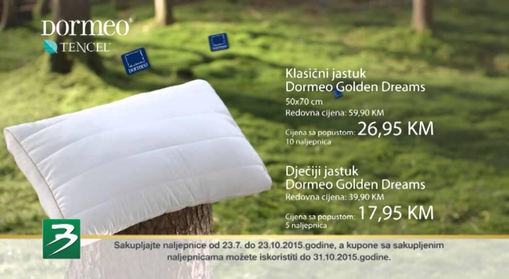 Dormeo Golden Dreams kolekcija - YouTube 19c40b35fe