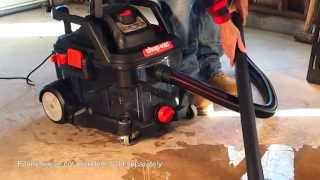 Shop-Vac® Clearly Different Wet/Dry Vac Picks Up Wet Messes