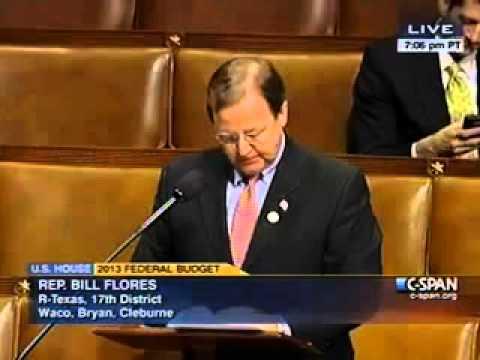 Flores Speaks Out Against Congressional Progressive Caucus Budget Proposal