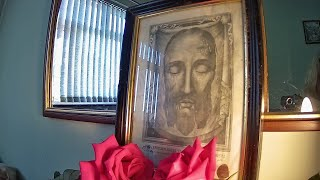 Holy Face of Jesus prayer meeting and day 9 of Holy Face Novena