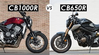 Honda CB1000R vs CB650R: Which One Would I Buy?