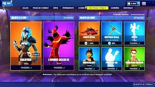 BOUTIQUE FORTNITE du 14 Fevrier 2019 ! ITEM SHOP February 14 2019 !
