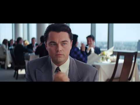 Chest beat - the wolf of wall street