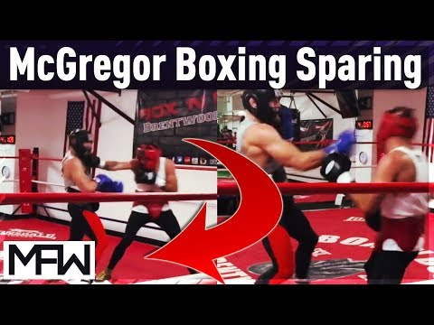 Conor McGregor Sparring With Professional Boxer Patrick Hiland Conor Mcgregor Boxing Sparring