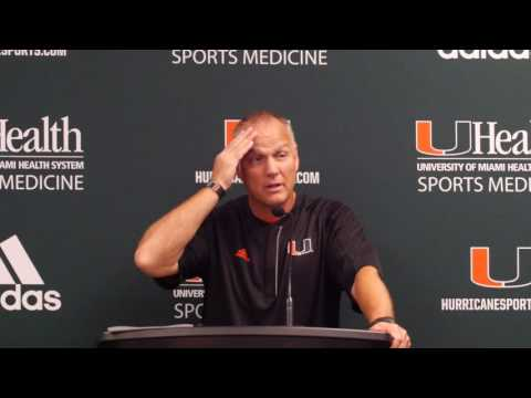 Mark Richt | Post Game Presser FAU | 9.10.16