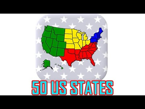 50 US States: Capitals & Flags - State Flags - All Answers - Walkthrough ( By Andrey Solovyev )