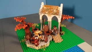 Lego 79006 Council Of Elrond Review From The Lord Of The Rings
