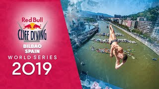 Red Bull Cliff Diving World Series LIVE in Bilbao, Spain