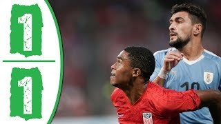 USA vs Uruguay 1-1 Highlights & Goals 2019
