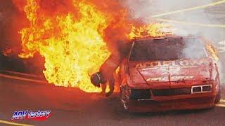 Phillip Ross Big Crash 1991 Sportsman 100 Qualifying Race