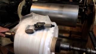 Линия по производству фасовочных пакетов(Ознакомительное видео процесса производства фасовочных пакетов. В комплекте 2 экструдера и машина для..., 2016-03-26T13:56:35.000Z)